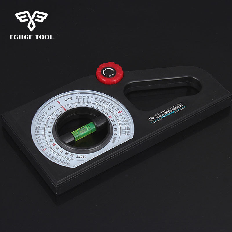 FGHGF Multifunction Meter Slope Gradient Instrument Inclinometer Angle Feet Foot Slope Meter dkny park slope ny2383