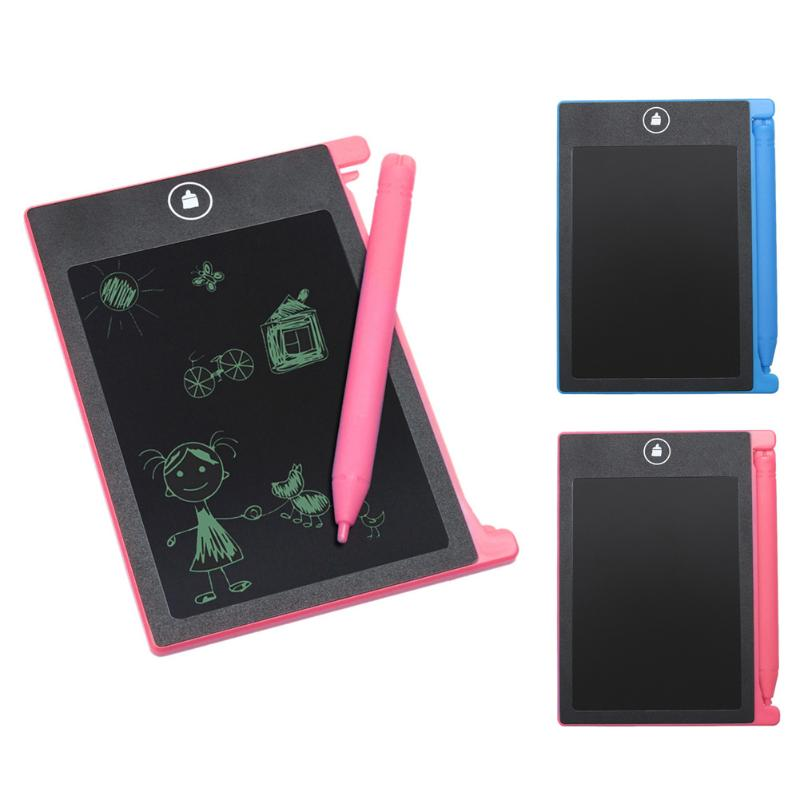 Mini 4.4 inch Digital LCD eWriter Handwriting Paperless Notepad Drawing Ultrathin Digital Tablet Graphics Drawing Tablet Pad