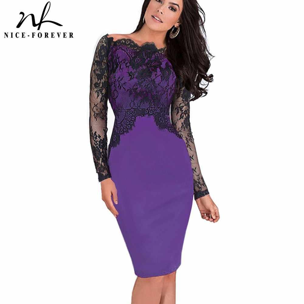 5f7ed0e6429 Милое-навсегда с открытыми плечами великолепное винтажное платье  сексуальное слэш шеи кружевной топ с длинным