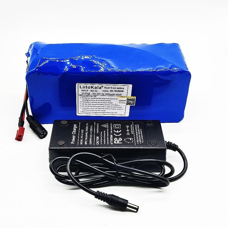 HK Liitokala 36 V 8ah High Capacity Lithium Battery + Mass package include 42 v 2A chager liitokala 36v 8ah 8000mah battery pack high capacity lithium batter pack include 42v 2a chager