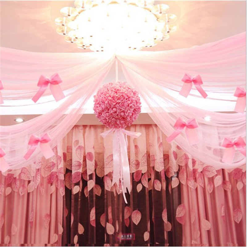 Tulle Ball Decorations Online Cheap Wedding Decoration Tulle Pom