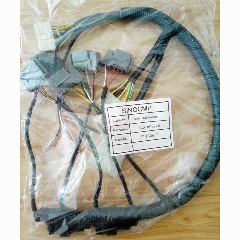 Switch Box Wiring Harness 530 00274b For Daewoo Dh150w 7