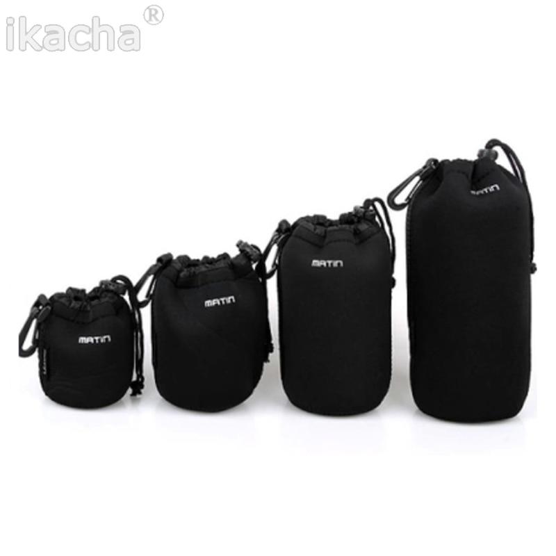2018 New S M L XL Matin Neoprene Soft Protector Camera Lens Pouch font b Bag