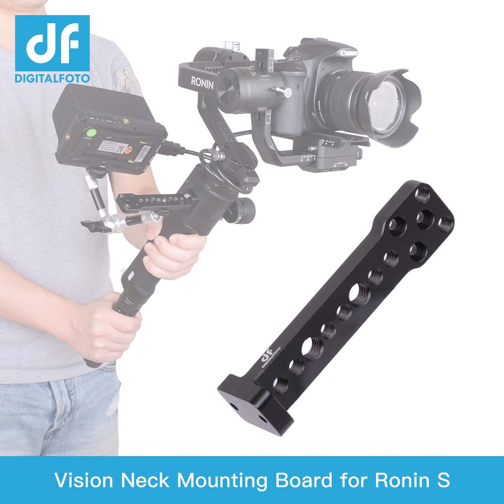 DIGITALFOTO VISION Mini-vision DJI RONIN SC/ S Gimbal Accessories Neck Extension Plate Connect LED Mic Monitor Photographic