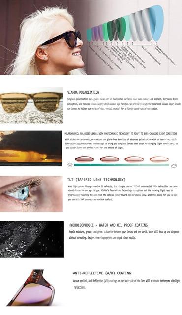 Viahda 2019 Popular Brand Polarized Sunglasses Sport Sun Glasses Sun Glasses For Women Travel Gafas De Sol 2