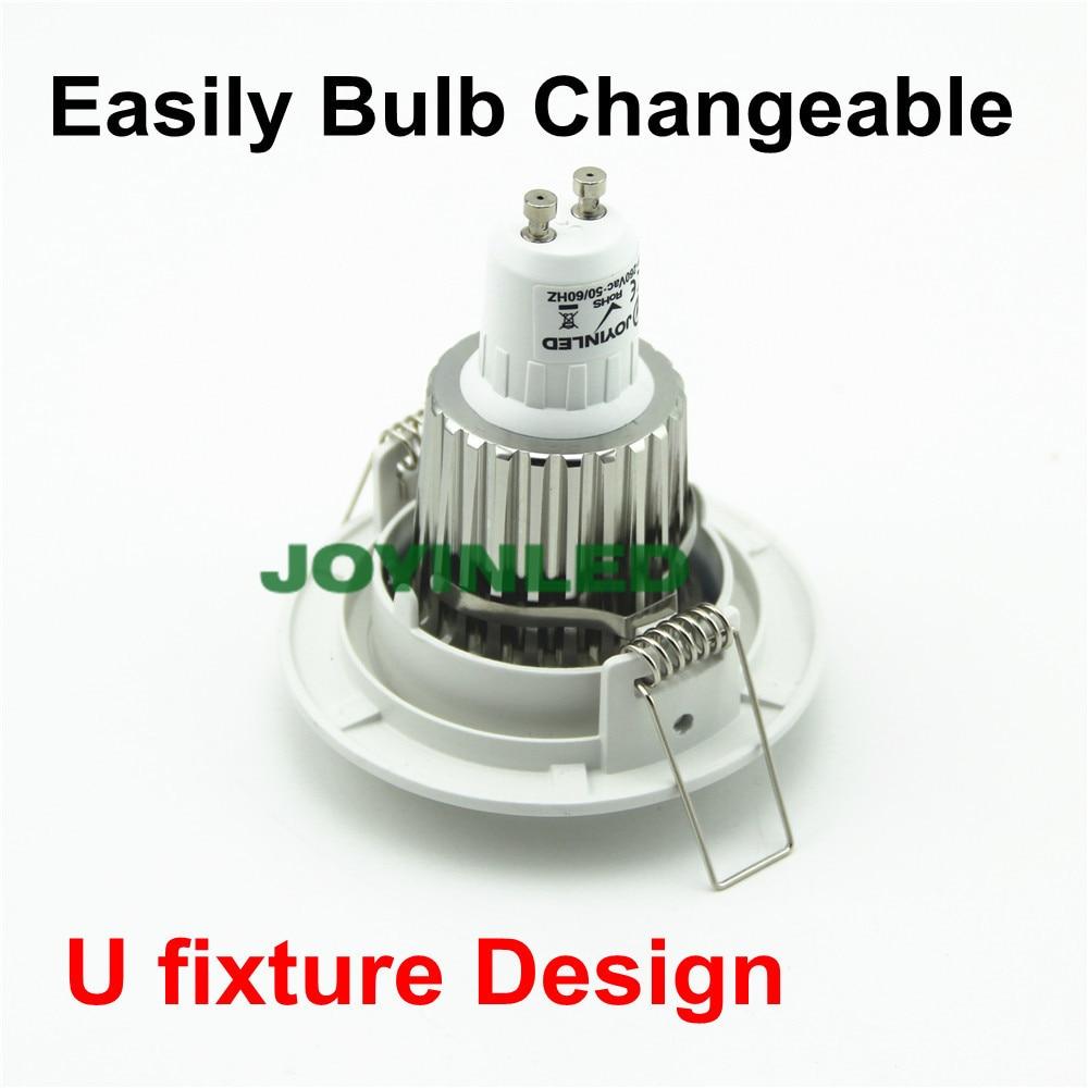 GU10 MR16 GU5.3 LED spot kürə uyğun 2 pin halogen ampul - Daxili işıqlandırma - Fotoqrafiya 5