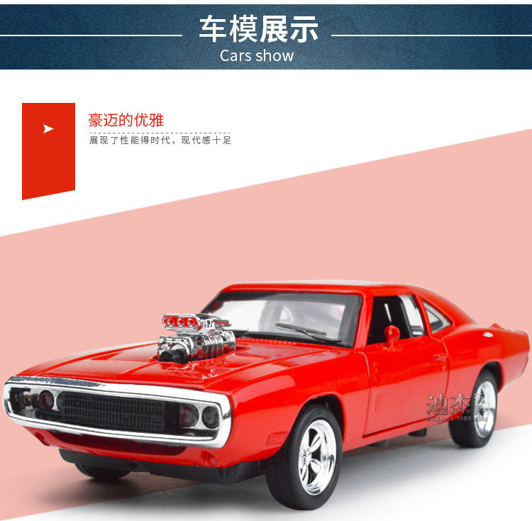 The Fast And The Furious Dodge Charger Alloy Cars Models Free ...