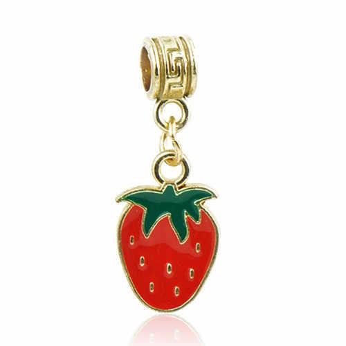 Enamel Crystal Girl Santa Claus Owl Moon Star Love Heart Hamsa Hand Charms Beads Fit Pandora Bracelets for Women DIY Jewelry