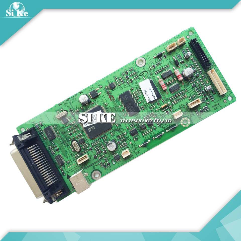 Laser Printer Main Board For Samsung ML-1710P ML1710P ML 1710P Formatter Board Mainboard Logic Board printer power supply board for samsung ml 1510 ml 1710 ml 1740 ml 1750 ml 1510 1710 1750 power board free shipping on sale