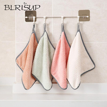 Blrisup микрофибры кухонная ткань для посуды с высоким уровнем эффективная посуда бытовая химия подвесное полотенце для рук Кухня аксессуары для полотенец