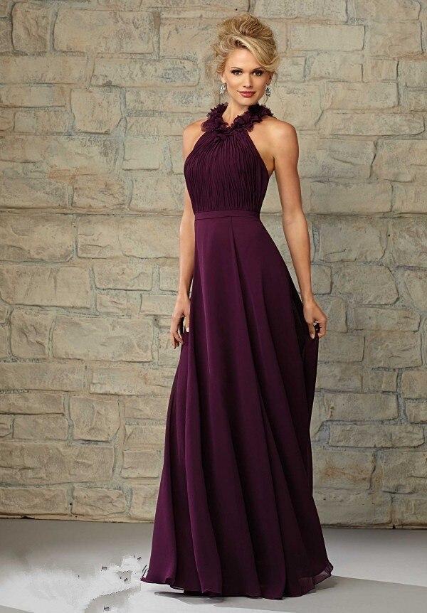 Dark Purple Chiffon Dress_Other dresses_dressesss