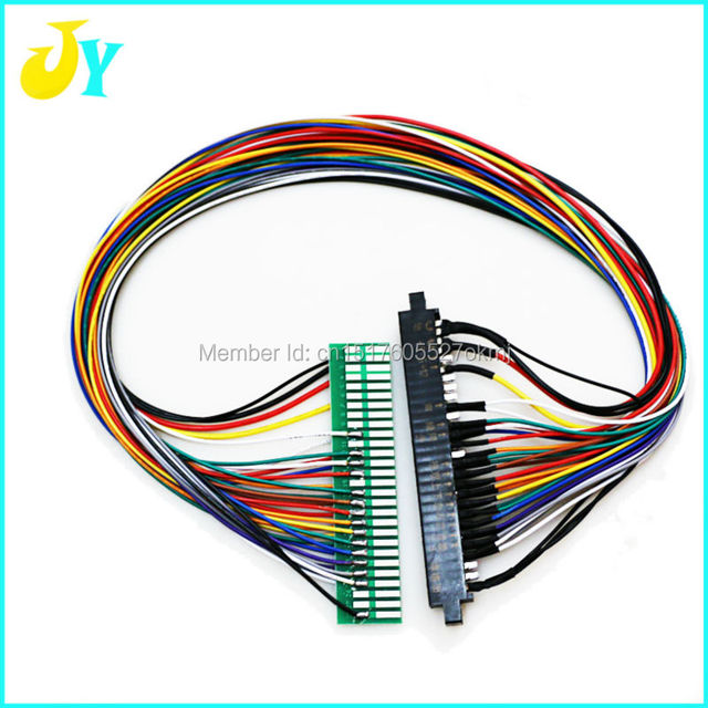 US $6.5 |28 pin Jamma wire harness extender game accessory for amut Harness Wiring Pinball Machines on