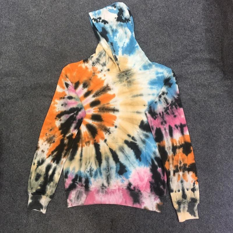 19ss New Travis Scott ASTROWORLD Hoodies Men Women Streetwear Dyeing Splashing Ink Cotton Sweatshirts Hoodie