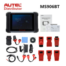 AUTEL Distributor AUTEL MaxiSys MS906BT Wireless Diagnostic and ECU Coding Scanner Better than MS906 Freee