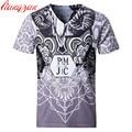 Men Printed T shirts 5XL Plus Size Summer Short Sleeve Casual Brand Tees Slim Fit Cotton Modal Breathable Fashion TShirts F2151