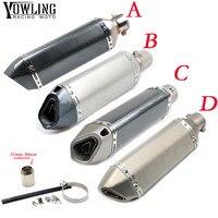 Motorbike 51mm exhaust muffler pipe db killer connector For YAMAHA TTR YZ WR XT 125E 125L 250R 250X 450F 250F 250FX 426F 450FX