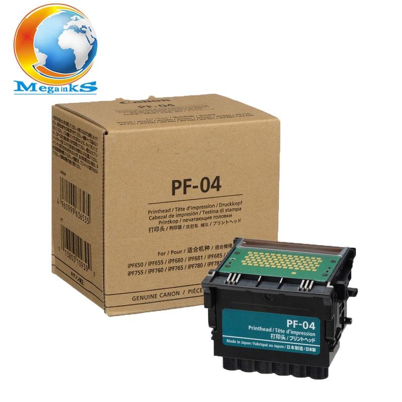 PF PF-04 04 cabeça de Impressão para Canon IPF770 IPF771 IPF780 IPF781 IPF785 IPF786 IPF830 IPF831 IPF840 IPF841 IPF850 851 Da Cabeça De Impressão PF04