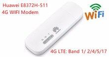 Huawei разблокирована E8372h-511 USB Беспроводной WI-FI модем LTE Беспроводной USB сети Hotspot ключ с Сим слот для карт E8372