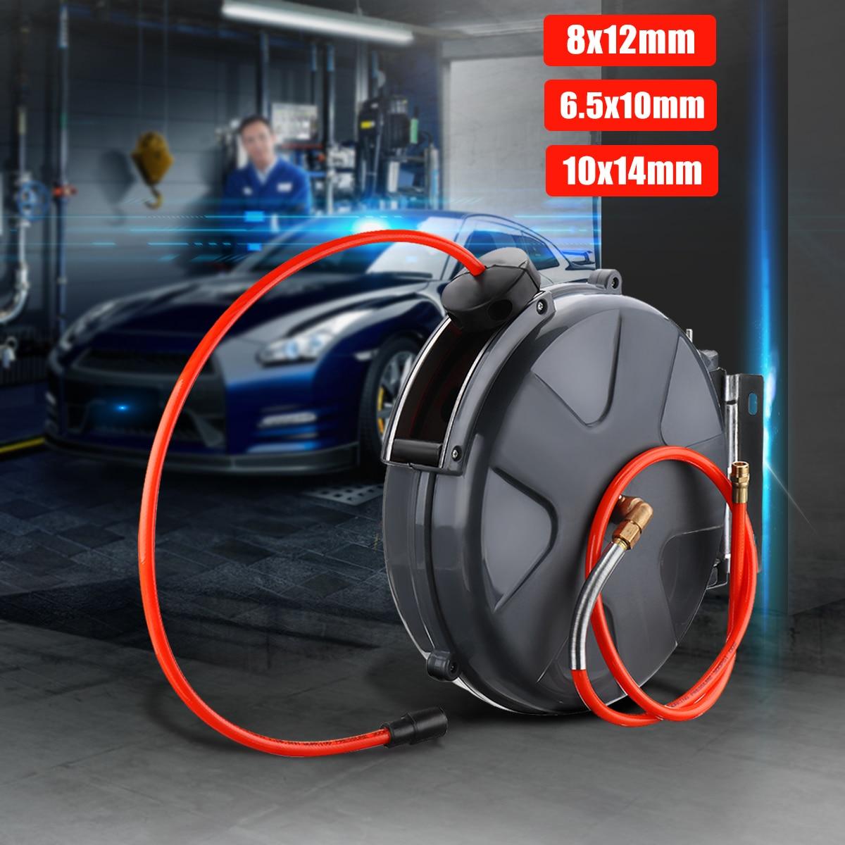 8/10/12mm enrouleur de tuyau d'air automatique 10 M tuyaux de plomberie automatique professionnel pour jardin pour voiture poussière propre