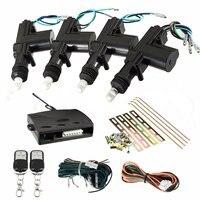 KROAK Universal 2 4 Door Remote Keyless Entry Central Locking Kit Car Remote Central Kit Door