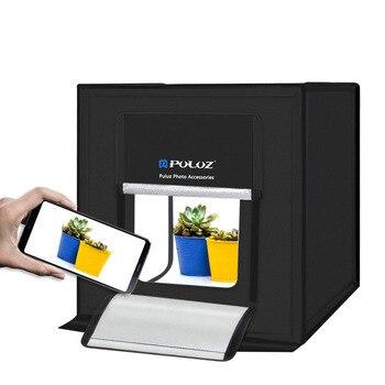 PULUZ 40 * 40cm LED Studio Soft Light Box Light Mini Light Studio Shooting Tent Light Box Photo Box Foldable