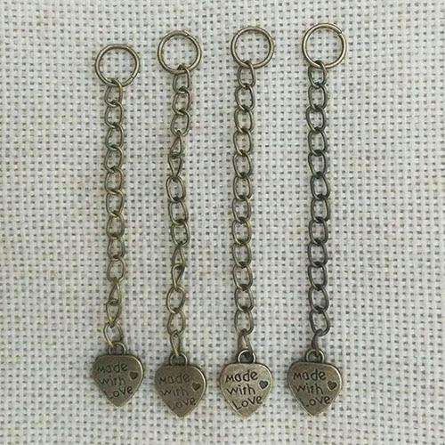 100pcs 15mm Necklace Pendant Clasps Hooks Charms S shape Bracelet Ropes Ends