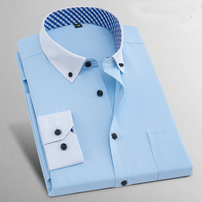 Formal Business Classic Design Long Sleeve Non-Iron Shirts