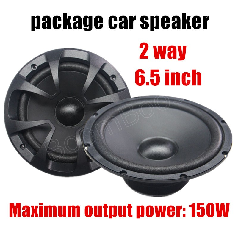 auto door component speakers a apair 6.5 inch car package speaker car stereo audio speaker a pcs 2 way 2x150W for all cars quantum alpha series 6 5 inch component speaker