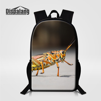 Dispalang Children School Backpacks For Elementary Students Funny Snail Print Schoolbags For Teenage Girls Animal Bagpack