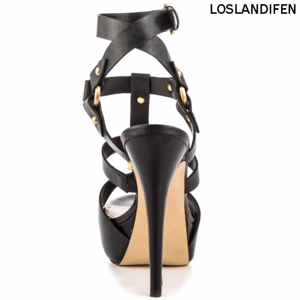 2018 À Plate Produits Xd286 Femmes De forme strap Bal Chaussures Talons Partie Dames Nouveaux Stiletto 5 Mode Hauts 14 Sandales T Slingback Cm P8rSP5wqn