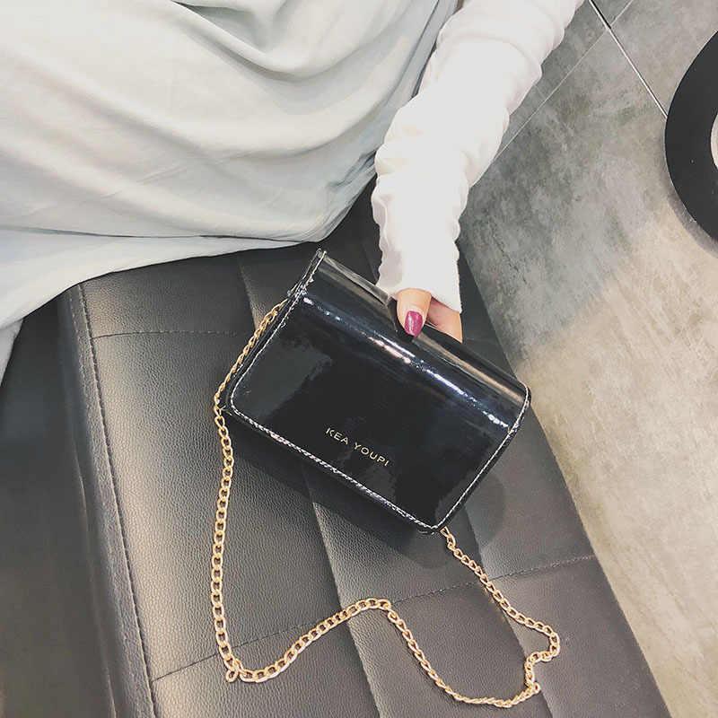Женские модные сумки с каменным узором из искусственной кожи, сумка через плечо, Женская мини-сумка через плечо, женские вечерние сумки с цепочкой