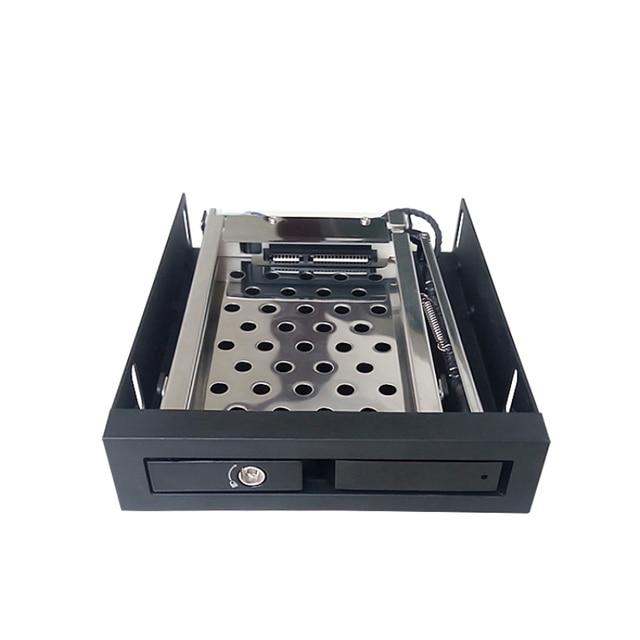 Single 2.5in hard Drives for 3.5In  Hot Swap Aluminum Case Sata Mobile Rack