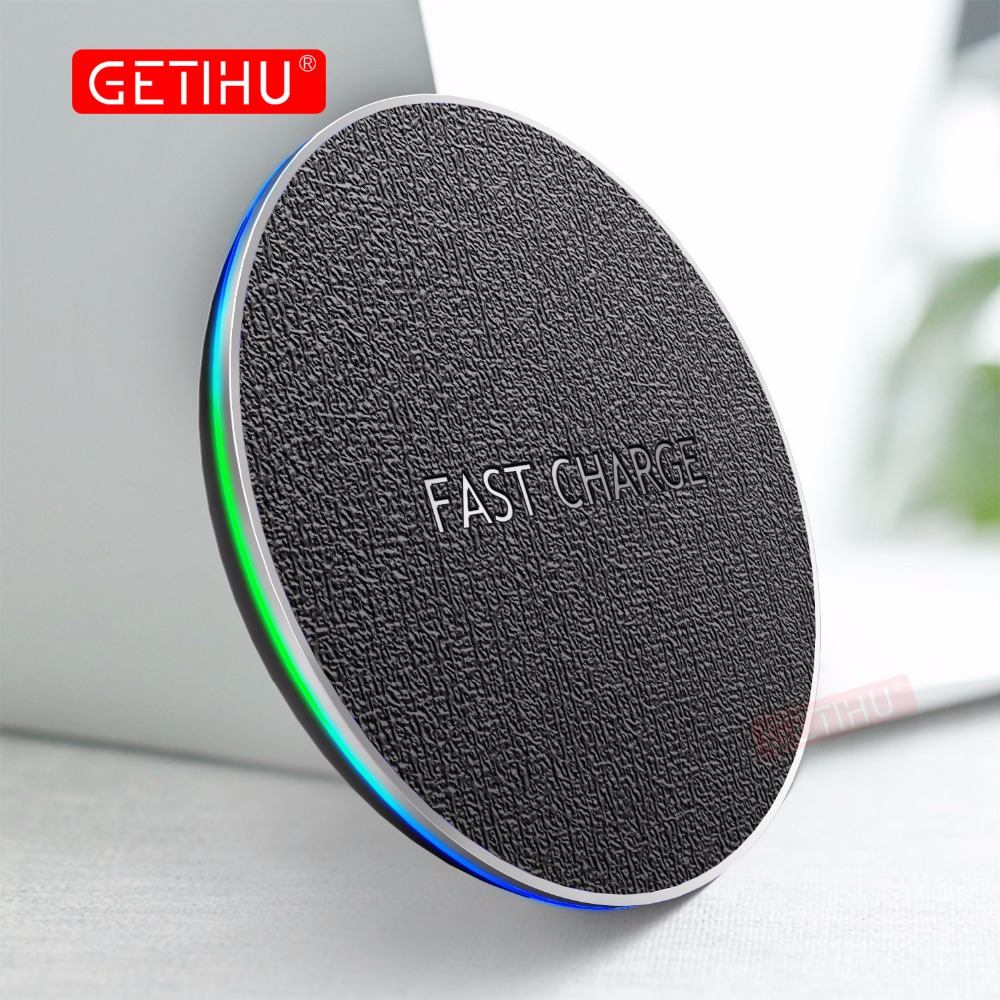 GETIHU Qi Wireless Charger Fast For iPho