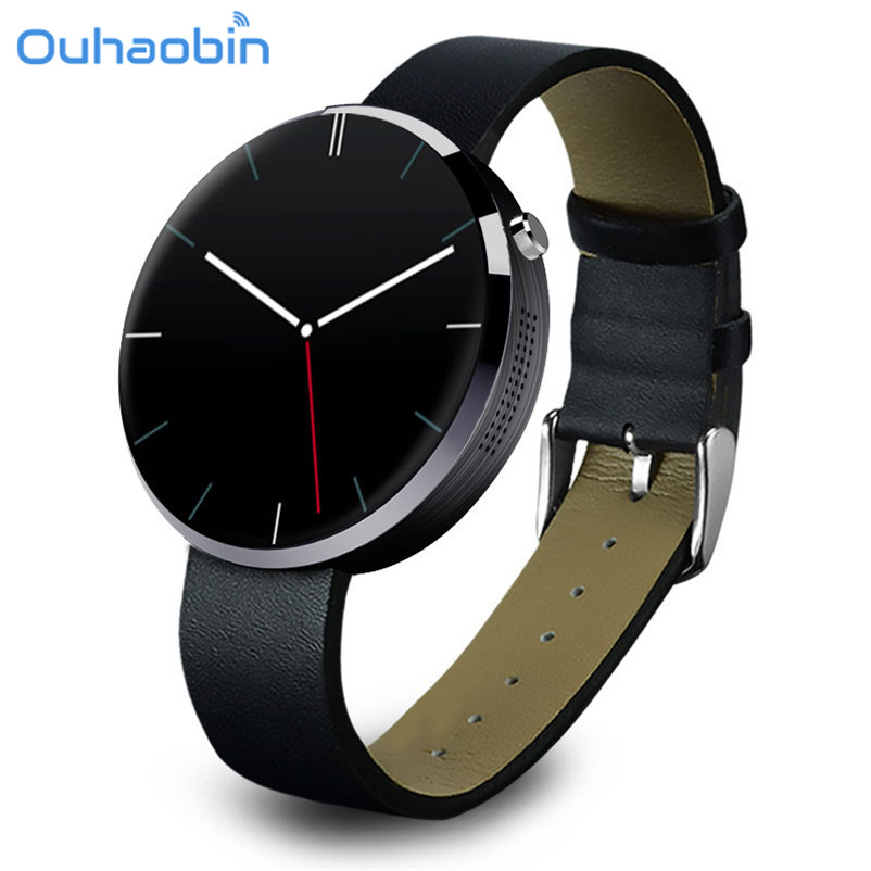 Ouhaobin Heart Rate Monitor Tracker Bluetooth Smartwatch For IOS Wrist Smart Watch Phone For Men Women