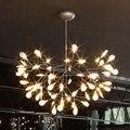 Creative Art Designer Bertjan Pot Lustre Luzes LED Luminárias Lâmpadas Da Folha Da Árvore Do Vintage de Suspensão Lâmpada de Iluminação Para Casa