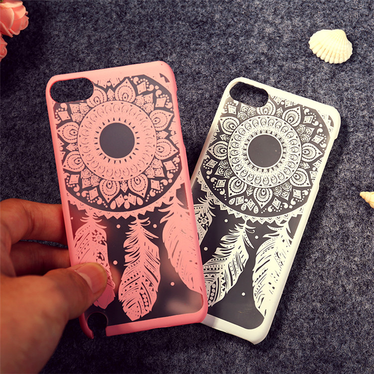 Fashion Printing Painted Dream Catcher Style Hard Plastic Cell Phone Case Cover For ipod touch5 Bag Cases for iphone 5c t006