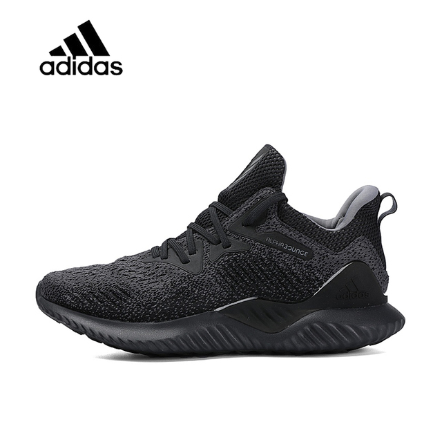 the latest 0f4eb 0b896 Original New Arrival Official Adidas Alphabounce Beyond Bounce Mens  Running Shoes Sport Outdoor Sneakers Good Quality AQ0573