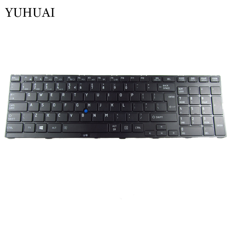 New US Keyboard FOR Toshiba Tecra R850 R950 R960 US laptop keyboard With pointing mouse new us keyboard for acer aspire vn7 793g vx5 591g vx5 591g 52wn us laptop keyboard with backlit