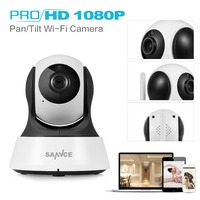 SANNCE Smart Wireless 1080P HD IP Camera 2MP CCTV Security Camera 1080P Home Indoor WiFi Camera