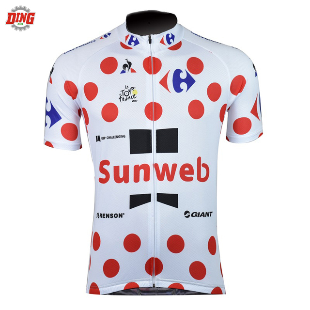 NEW SUNWEB cycling jersey bike wear green white men Short sleeve pro team  cycling clothing ropa Ciclismo Summer Bicycle clothes 943c07fab