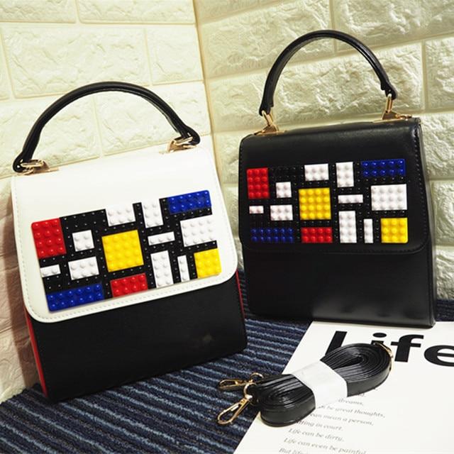 High quality fashion brand design Lego monster eye personalized letters casual totes ladies handbag shoulder bag messenger bag