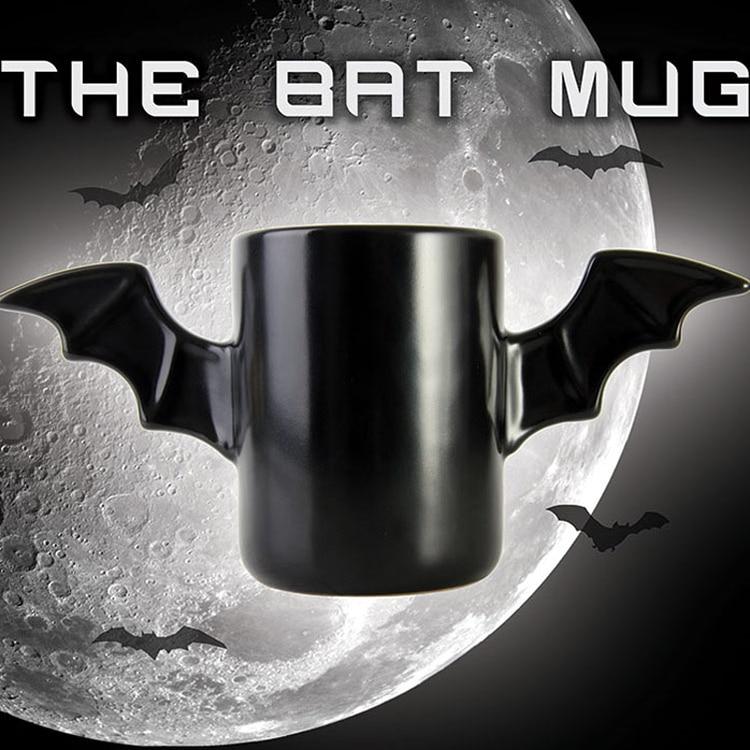Bat Coffee Cup Bruce Wayne Heatproof A Pair Wings The Dark Of Host Ceramic Coffee Batman Mug Cup tumbler