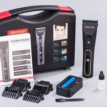 skilled LCD present electrical grownup hair clipper trimmer black ceramic razor hair cutter machine barber instrument barbershop scissor