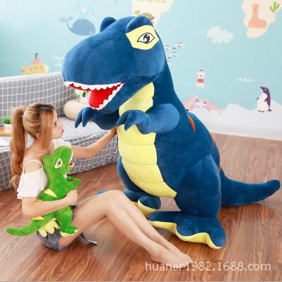 160cm Large Tyrannosaurus Doll Dinosaur Plush Toy sleeping pillow doll children gift big size the dinosaur island jurassic infrared remote control electric super large tyrannosaurus rex model children s toy