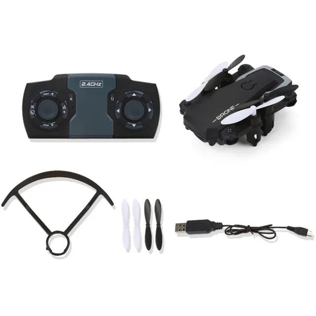 GW10 Mini Foldable Drone 4CH G-Sensor Wide Angle Lens RC Drone Altitude Hold Headless Mode Foldable Quadcopter one key return