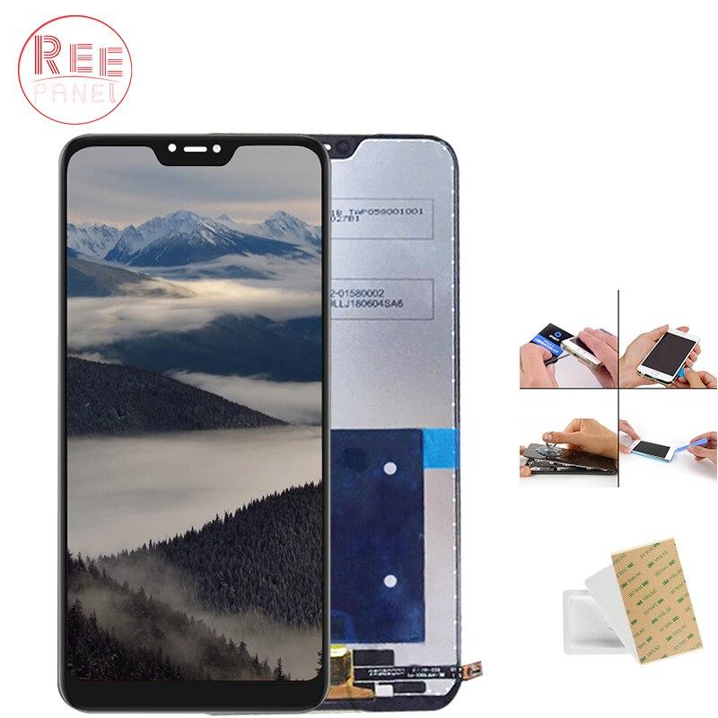 AAA + Qualité D'affichage Pour Redmi 6 Pro LCD ensemble numériseur à écran tactile Digitizer Pour Xiaomi Redmi 6 Pro affichage Remplacement