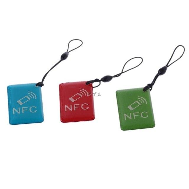 עמיד למים 1 PCS Ntag215 NFC תגיות מדבקת טלפון זמין דבק תוויות RFID תג 25mm סיירת נוכחות גישה