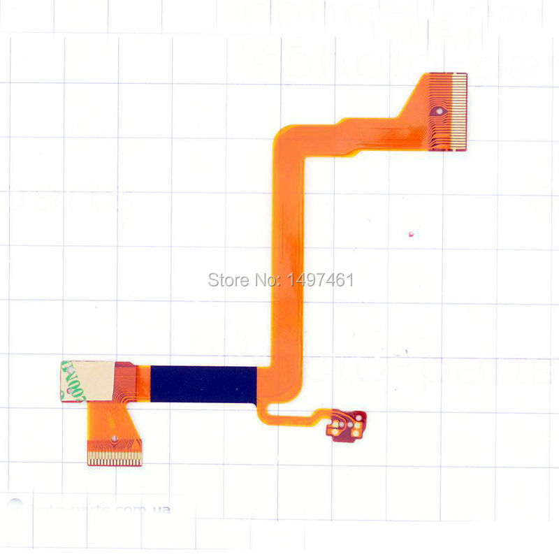 2PCS LCD hinge rotate shaft Flex Cable for <font><b>Panasonic</b></font> <font><b>SDR</b></font>-S26 <font><b>SDR</b></font>-<font><b>H80</b></font> <font><b>SDR</b></font>-H90 S26 <font><b>H80</b></font> H90 Video Camerra image