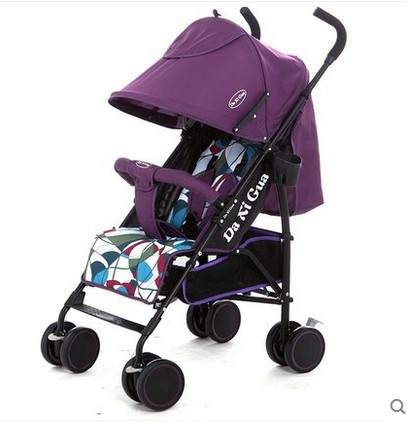 Baby strollers umbrella car can sit or lie ultra-portable folding baby strollers carts shock