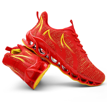 цена на New Big Size 39-48 Men Running shoes Youth Casual wild Trend Sneakers Boys Outdoor Breathable Mesh Sports shoe Light Weight Soft